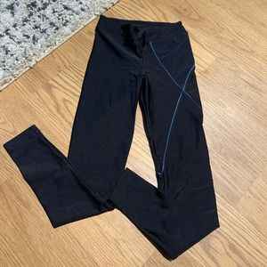 Koral legging // black & blue